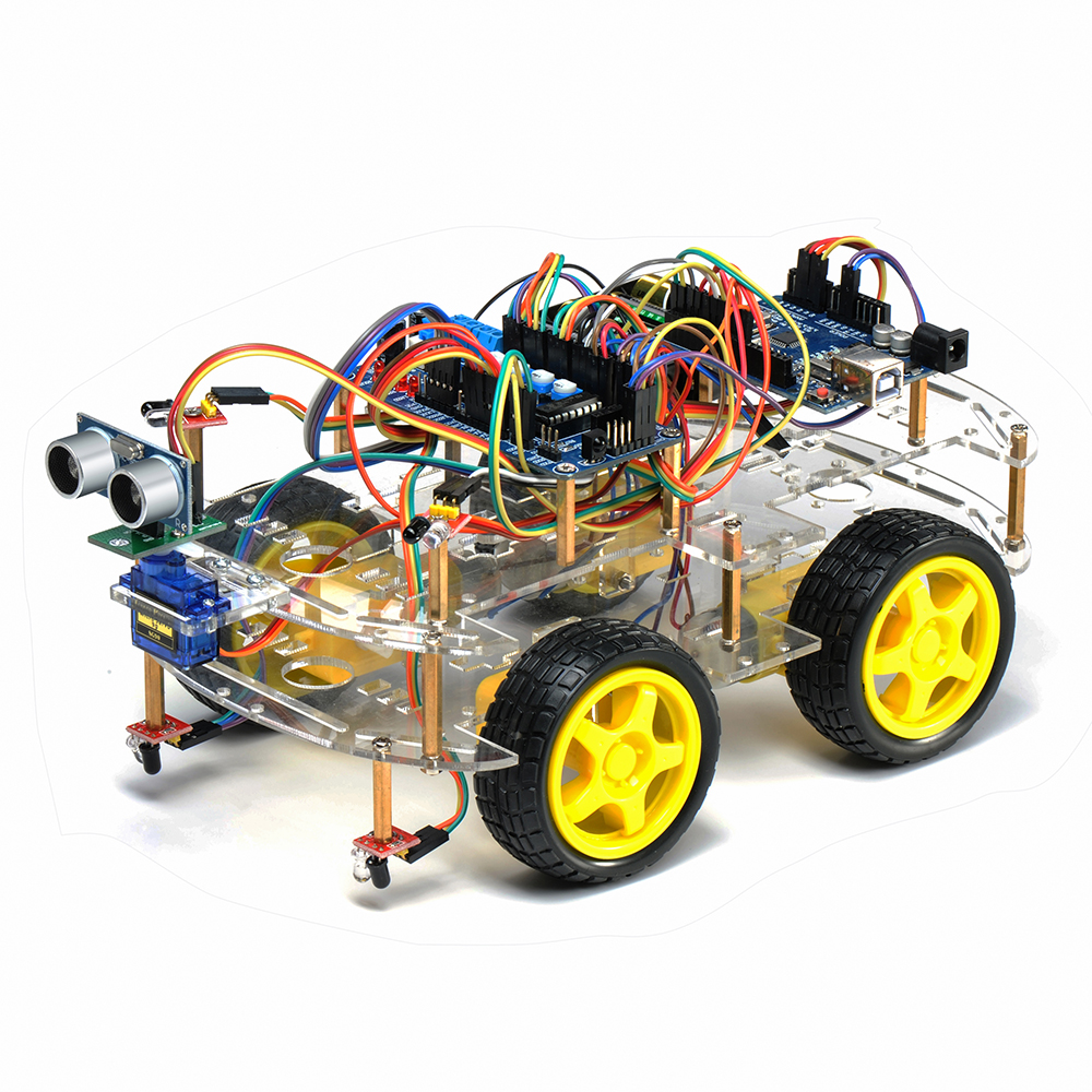 Building Instructions 4wd Arduino Robot Please Check My Wiring Diagram Diy Electric Car Forums Http Ebaynl Itm Smart Voiture Kit Pour Debutants Programmable 252338640376hashitem3ac08e15f8g5noaaoswe7bwzv5r