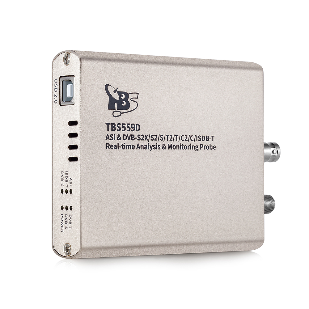 Details about TBS5590 Multi-standard TV Tuner TSReader Professional MPEG-2  Transport Analyzer