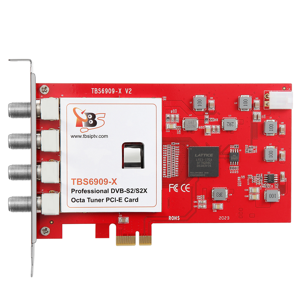 Details about TBS6909X DVB S2X Octa 8 PCIe Satellite TV Tuner Card  Compatible with Tvheadend